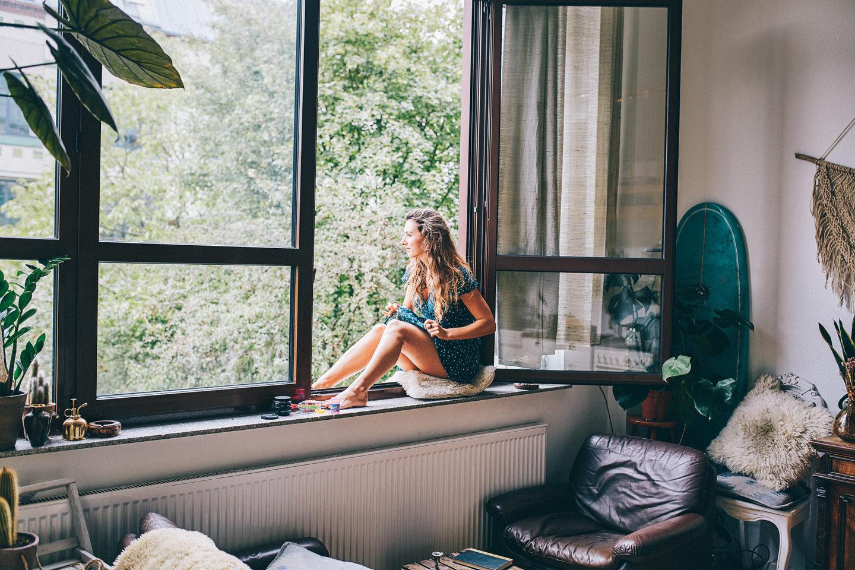 My window is my Home
